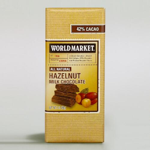 World Market® Hazelnut Gianduja Chocolate, Set of 2