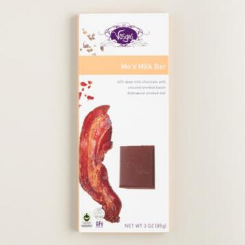 Vosges Mo's Bacon Chocolate Bar, Set of 2