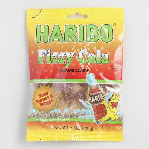 Haribo Fizzy Cola Gummies, Set of 12