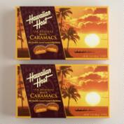 Hawaiian Host Chocolate Caramel Macadamias, 2 Pack