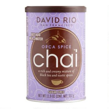 David Rio Orca Spice Sugar-Free Chai Mix, Set of 6