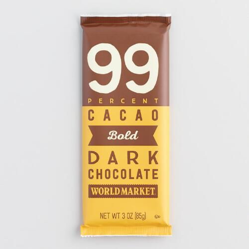 World Market® 99% Dark Chocolate Bar, Set of 2