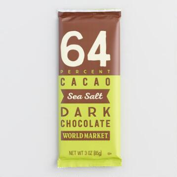 World Market® Sea Salt Chocolate Bar, Set of 2