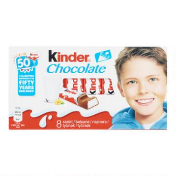 Kinder Chocolate Bars, Set of 10
