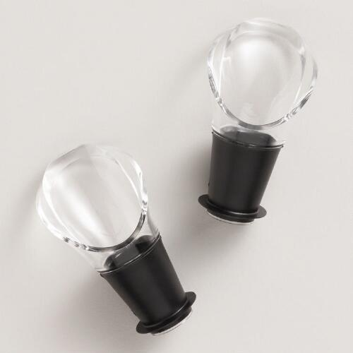 Vacu Vin Wine Pourer, Set of 2