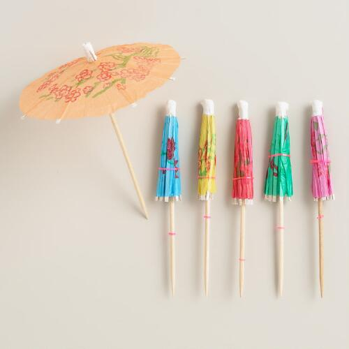 Parasol Picks, Set of 24