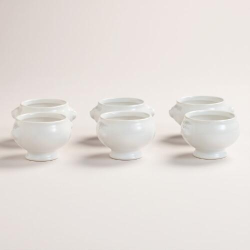 Mini Tasting Tureens, Set of 6