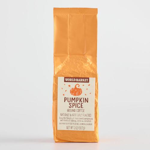 World Market® Pumpkin Spice Coffee 2 oz., Set of 12