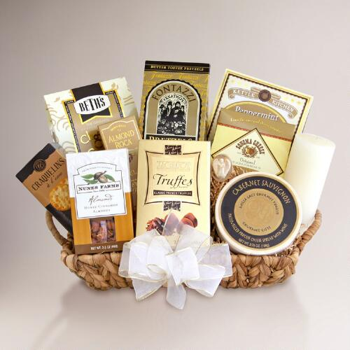 Memories Shared Sympathy Gift Basket