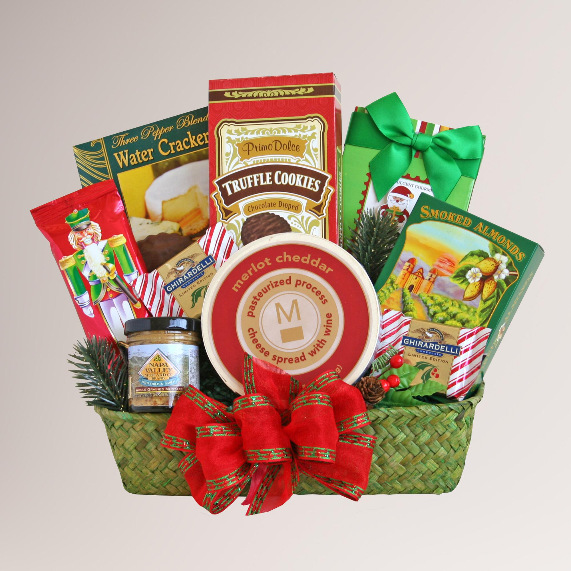 World Market Lately: Holiday Evergreen Snack Delights Gift Basket