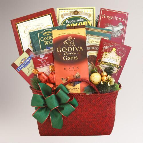 Tasty Tidings of Joy Gift Basket