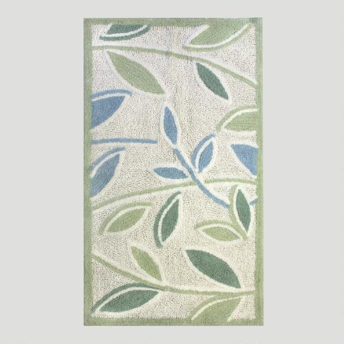 Tea Leaves Bath Rug