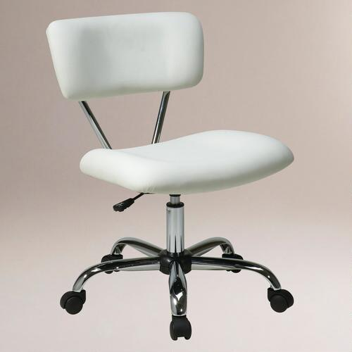 White Task Chair