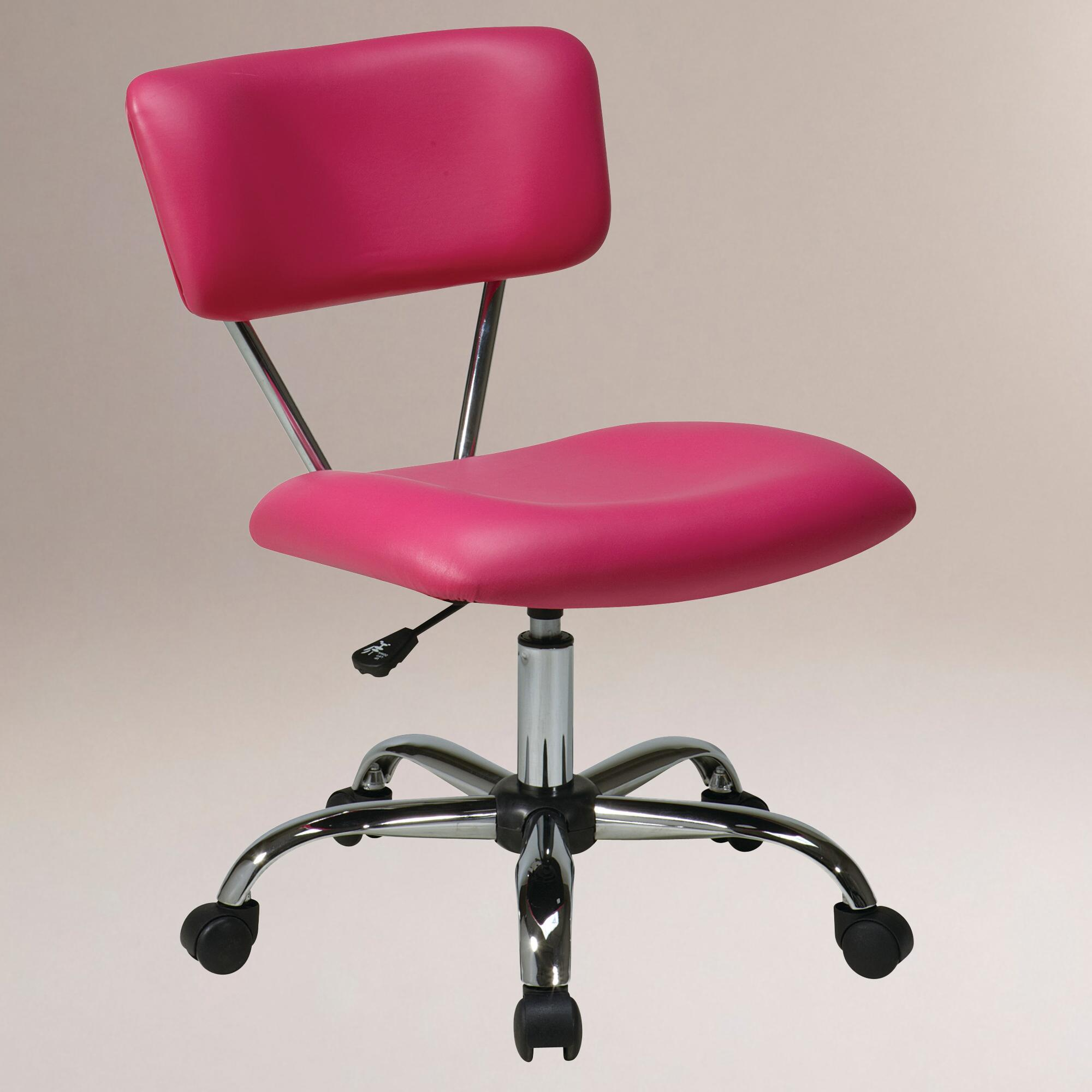 furniture office furniture desk chair pink desk chair