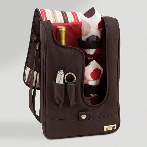 Mocca Wine Tote & Cooler