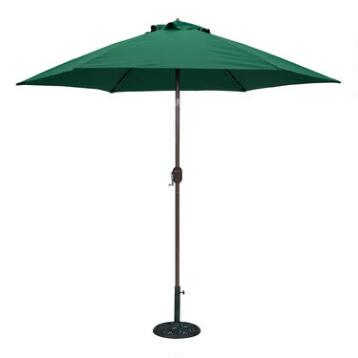 Green 9-ft. Round Umbrella