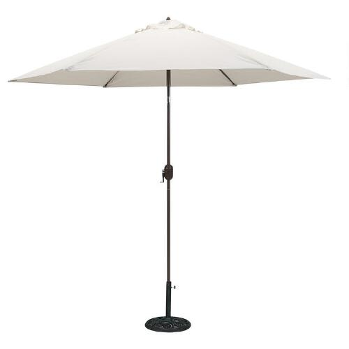 Natural 9-ft. Round Umbrella