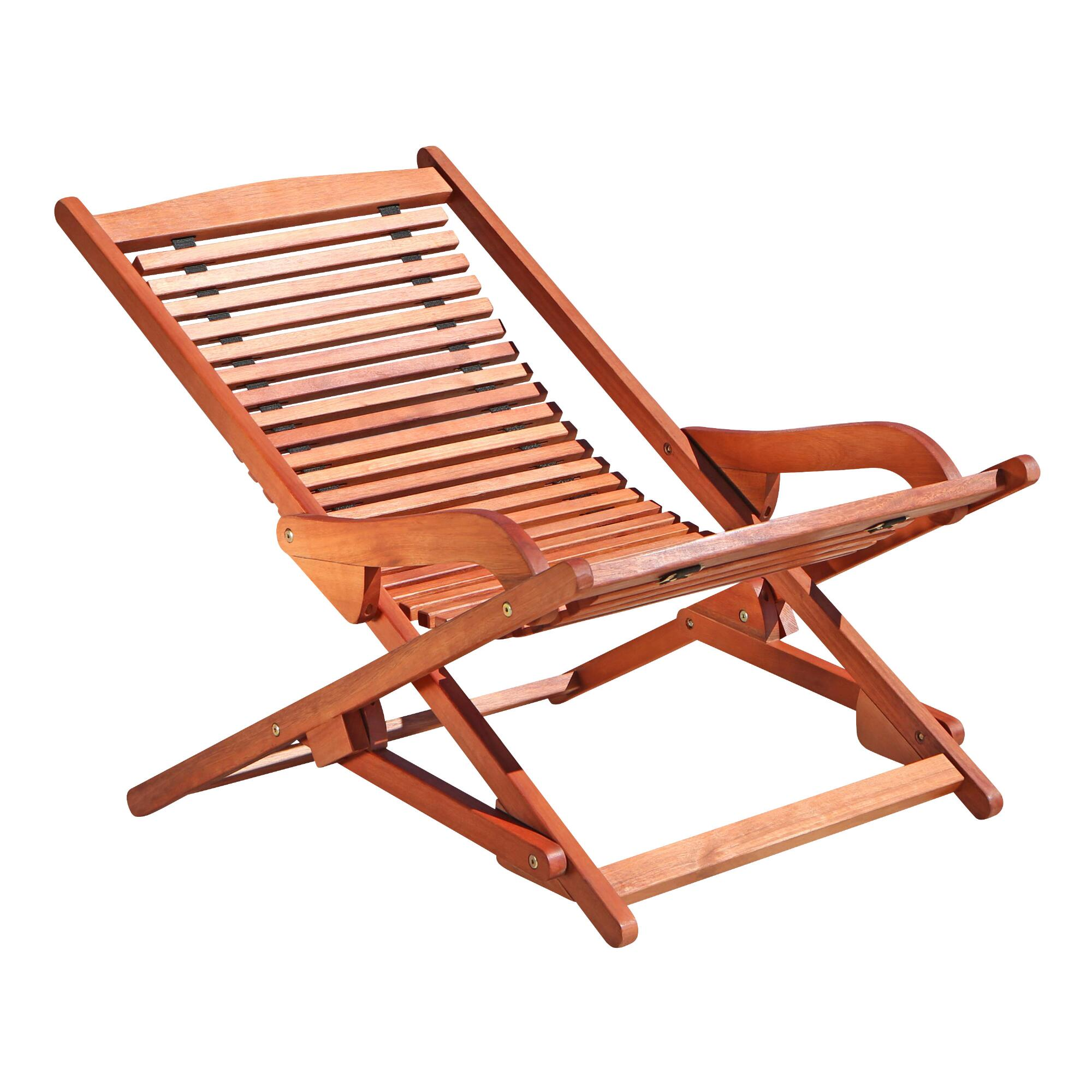 Patio folding chaise lounge world market - Folding outdoor chaise lounge ...