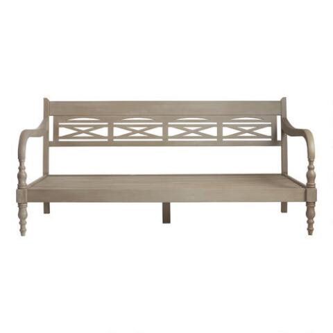 Indonesian daybed frame world market for World market futon mattress
