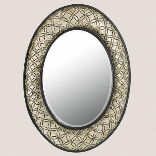 Corsica Oval Beveled Mirror