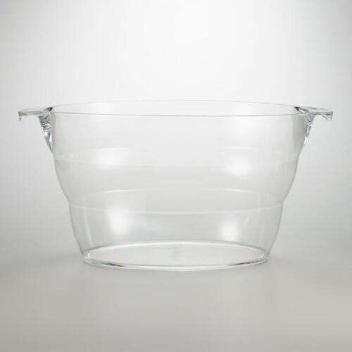 Clear Acrylic  Party Tub