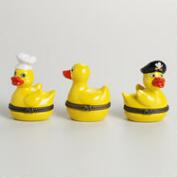Ceramic Duck Boxes, Set of 3
