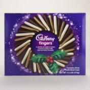 Cadbury Assorted Chocolate Finger Cookies Wreath