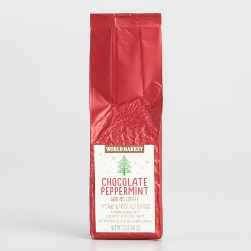 World Market® Chocolate Peppermint Coffee 2oz, Set of 12