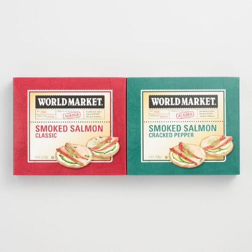 World Market® Alaskan Smoked Salmon Combo Pack