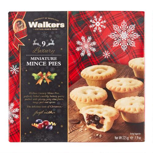 Walkers Luxury Mini Mincemeat Tarts, Set of 12