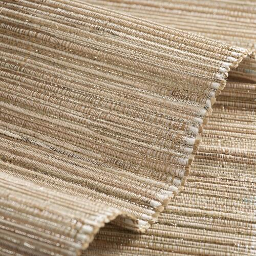 Natural Fiber and Lurex Table Runner