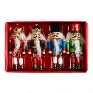 Nutcracker Napkin Rings,  Set of 4