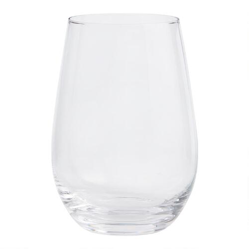 Connoisseur Stemless Glasses, Set of 4