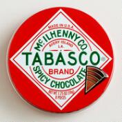 The Chocolate Traveler Tabasco® Chocolate Tin, Set of 6