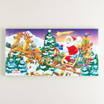 Windel Elf Advent Horizontal Calendar