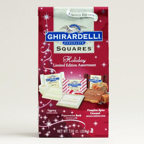 Ghirardelli Ltd. Ed. Holiday Chocolate Squares Bag Asst.
