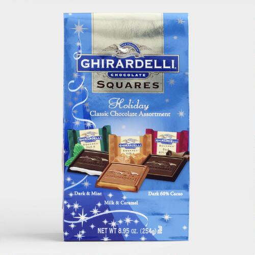 Ghirardelli Holiday Chocolate Squares Bag Assortment