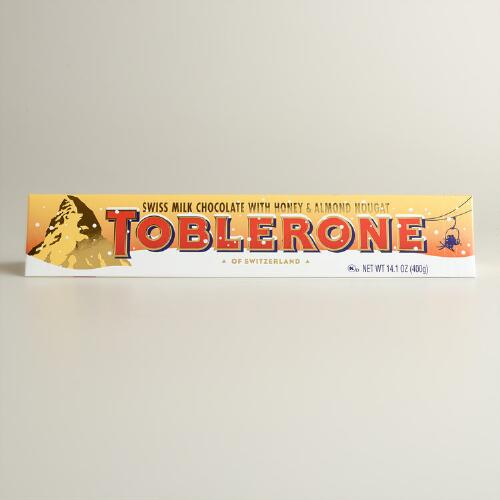 Limited Edition Toblerone Holiday Polar Bear Bar, Set of 5