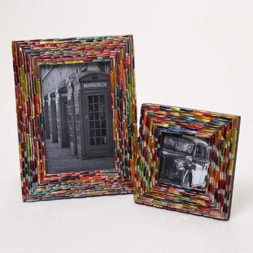 Multi-Colored Broken Bangle Frames