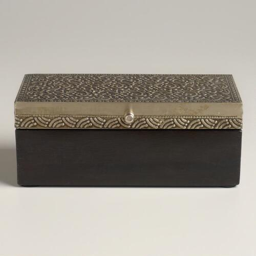 Giulia Rectangle Jewelry Box