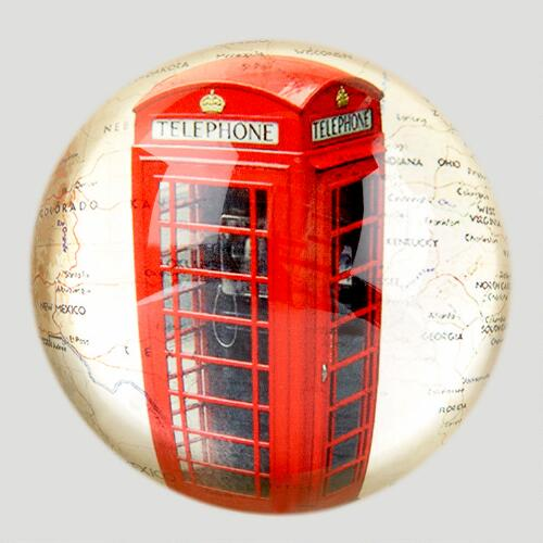 London Phone Booth Paperweight