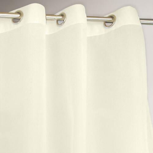 Ivory Escape Grommet Top Outdoor Curtain