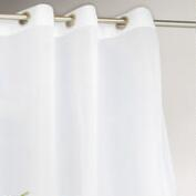 White Cote d'Azure Outdoor Curtain