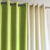 Green Gazebo Grommet Top Curtain