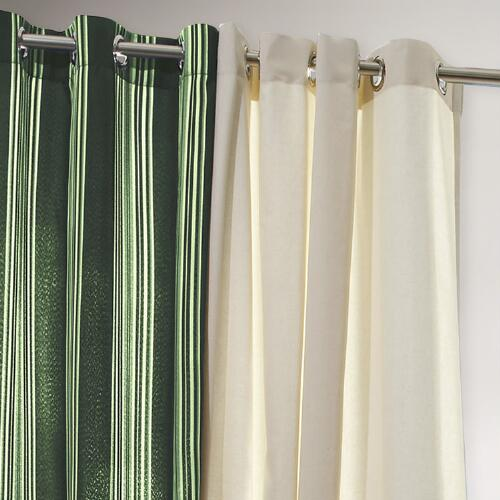 Forest Striped Gazebo Curtain