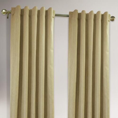 Natural 4 in 1 Complete Window Curtain