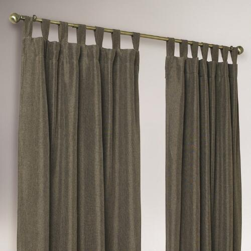 Chocolate 4 in 1 Complete Window Curtain