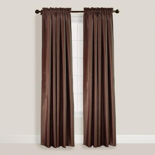 Brown Shangrila Curtain