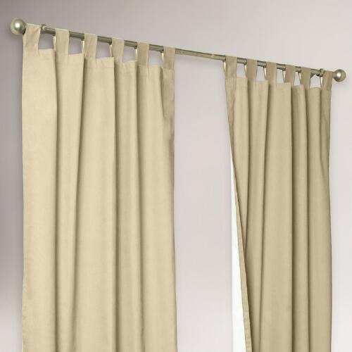 Thermalogic® Khaki Weathermate Curtains, Set of 2