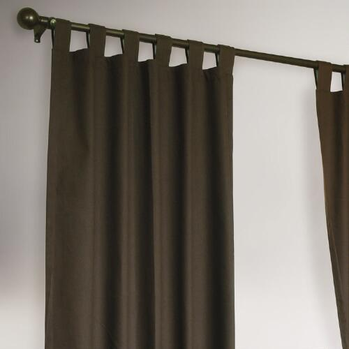 Thermalogic® Chocolate Weathermate Curtains, Set of 2